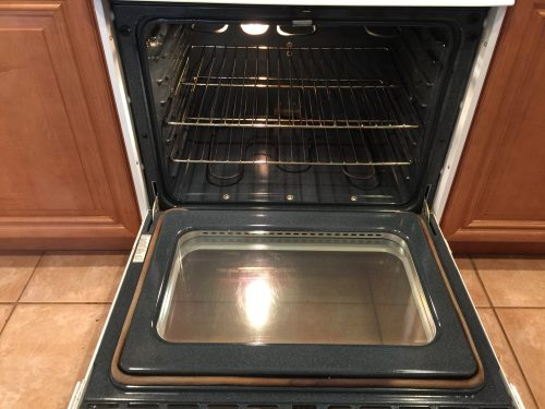 Photo of clean oven